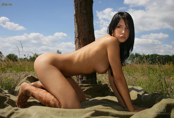 She takes a huge dildo