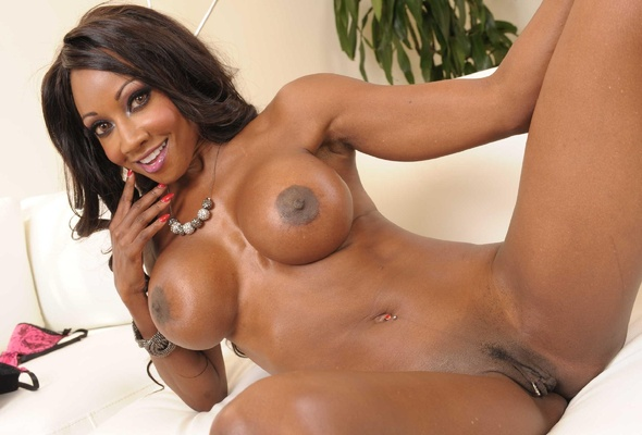 Hot busty ebony naked