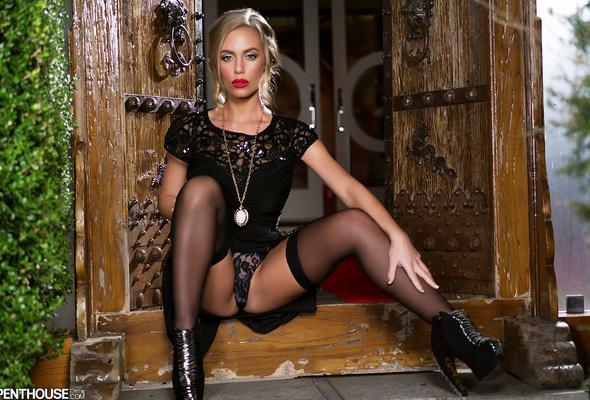 Nicole Aniston In Stockings