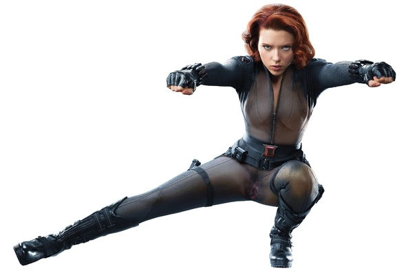 Widow as porn scarlett johansson black