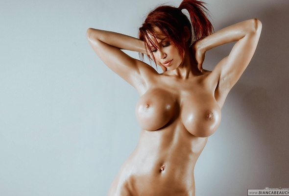 Redhead asian hot busty