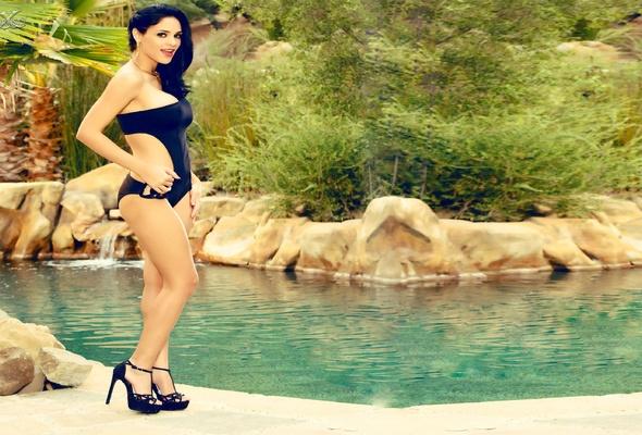 jasmine caro, swimsuit, brunette, lingerie, bikini, pool, pornstar