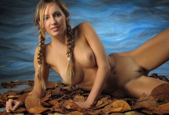 Naked pussy natural blonde hair remarkable