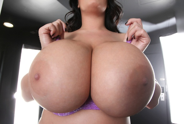 Asian big boob natural