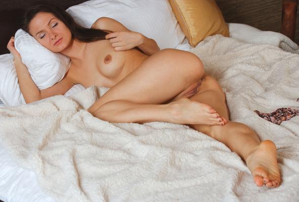 Asleep Pretty Russian Woman Dropped 17