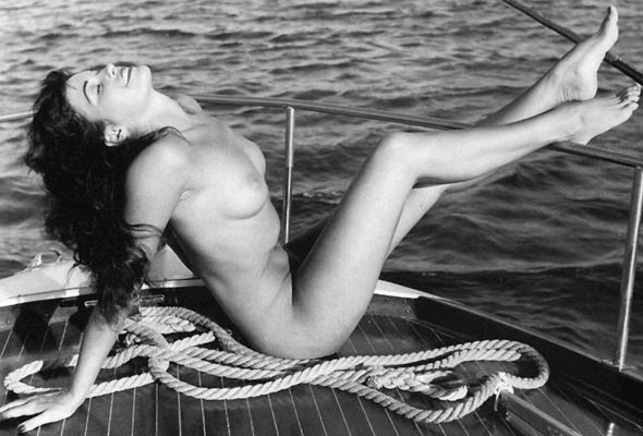 Bettie page nude outdoors picture 596