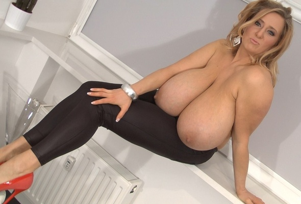 Amazing big boob large natural