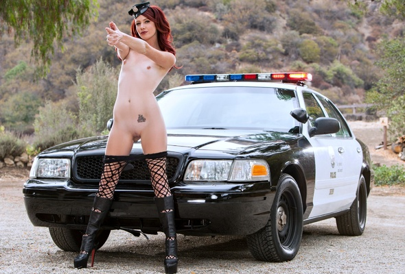 Agree, this police girl naked your place
