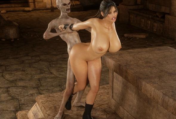 Big tits zombie 3d
