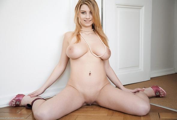 Beautiful woman legs spread open