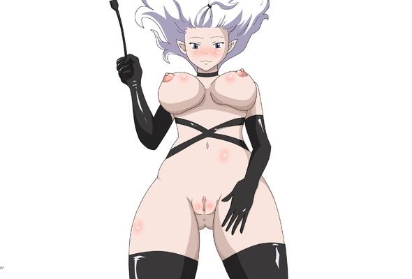 anime, purple hair, virtual, sexy babe, long hair, big tits, boobs, juggs, shaved, cunt, latex, lingerie, whip, gloves, stockings, hi-q, minimalist wall, own cut, fetish babe, widescreen cut