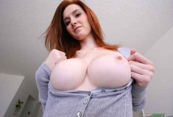 Big Natural Tits Secretary