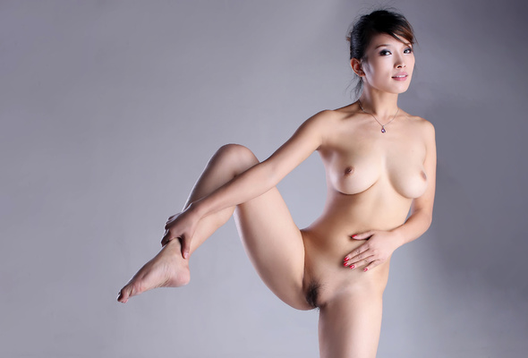 Nude korean puffy nipples