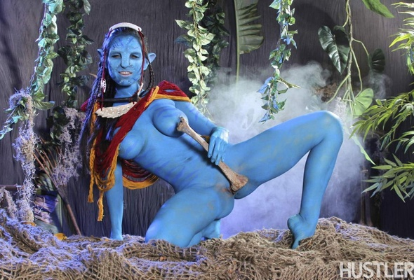 Girl nude avatar cosplay