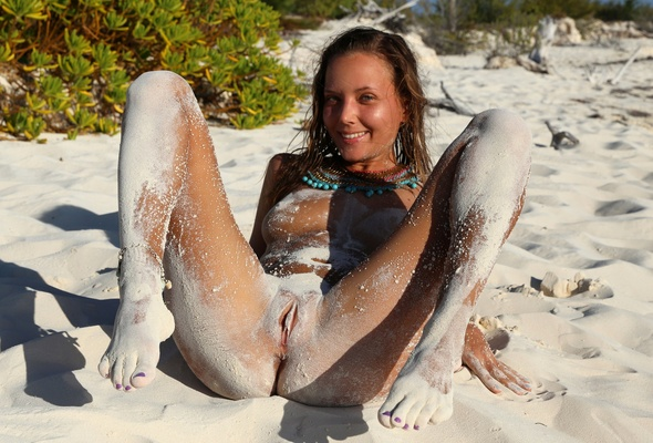 Clover nude beach katya