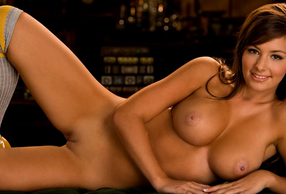 boobs Playboy brunettes big