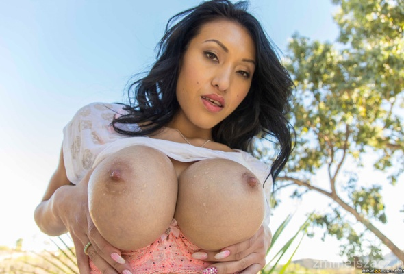 Big boobs asian pornstar