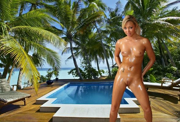 Playful ann with blond hottie