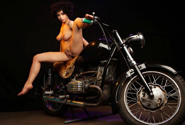 Big tits motorcycle