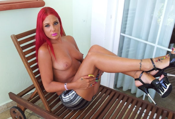Redhead bdsm brit dominated with anal fucking 6