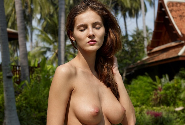 Tear drop boobs nude