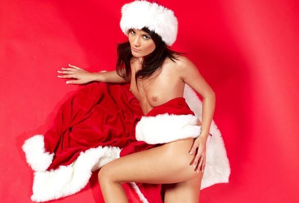 christmas perfect tits