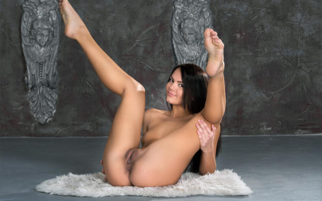 Legs pussy smooth beautiful