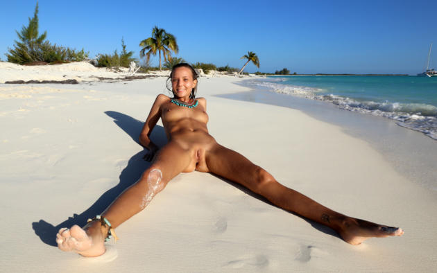 beach Shaved spread
