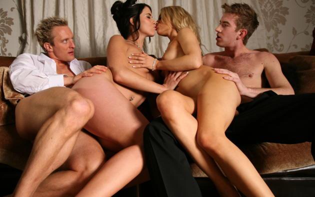 Foursome group porn