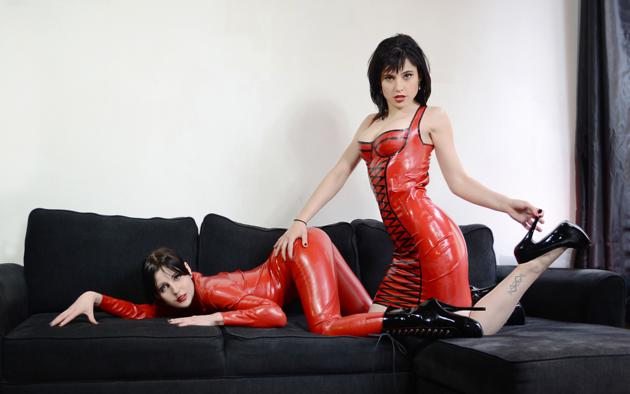 Latex and high heel babes apologise, but