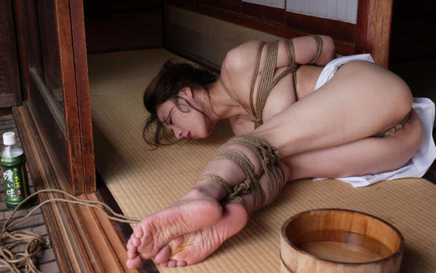 Asian Gets Kinbaku Bound