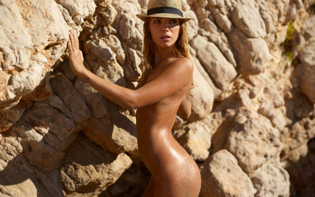 What necessary sexy nude oiled beach girls