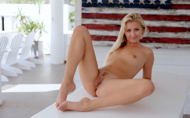Small Blonde Small Tits