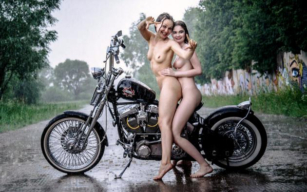Are right. model nude bikes babes you