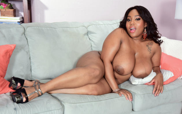 Big black female buttnaked and tits
