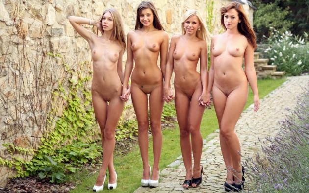 Фото голые молодые студентки
