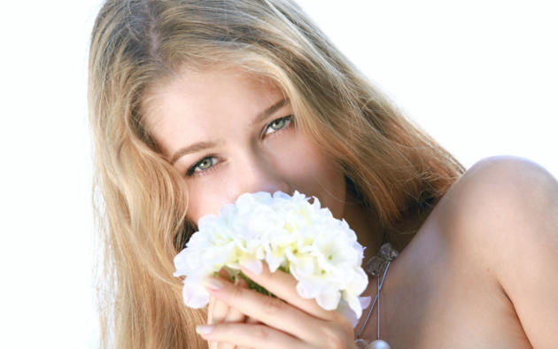 model, long hair, flowers, blue eyes, genevieve gandi, christianna, erica b, izabel, marianna merkulova, xana d