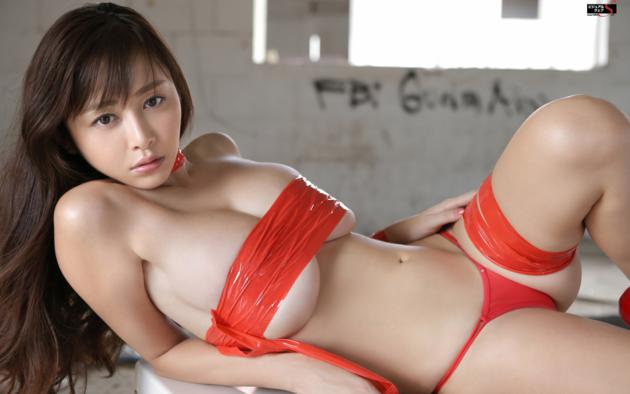 with Asian breasts girls big