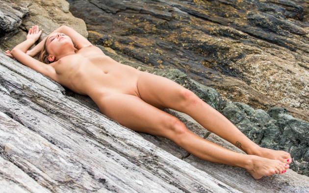 katya clover, clover, mango, mango a, caramel, beach, naked, small tits, nipples, shaved pussy, tattoo, tanned, hi-q, eavalla, katya, katyaclover