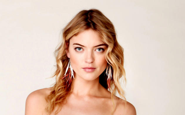 martha hunt, top model, blonde, blue eyes, lips, face