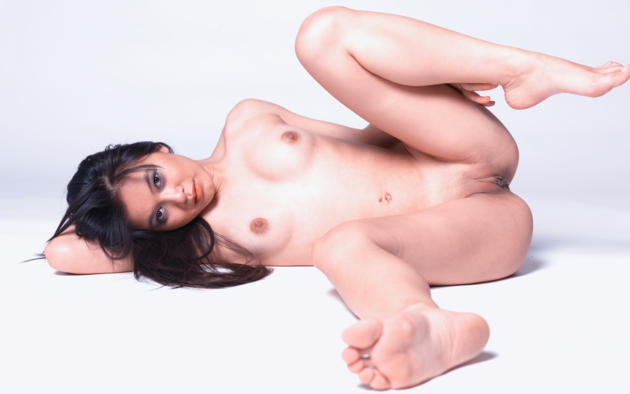 yoko, legs, pussy, shaved pussy, tits, labia, nude, brunette, asian