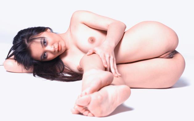 Wallpaper Yoko, Legs, Tits, Boobs, Labia, Nude, Brunette -2538