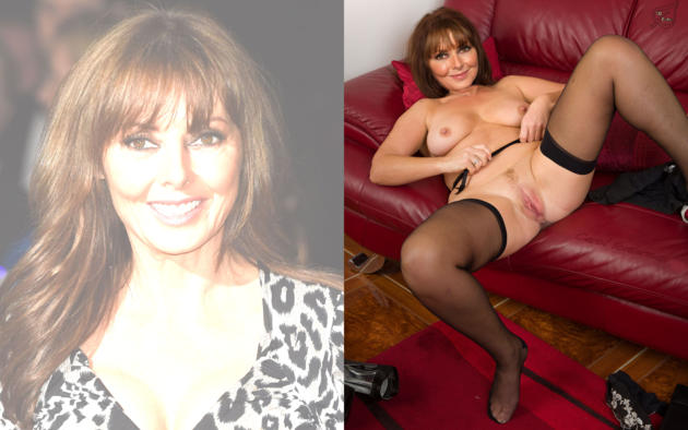 Carol vorderman nude fakes topic sorry