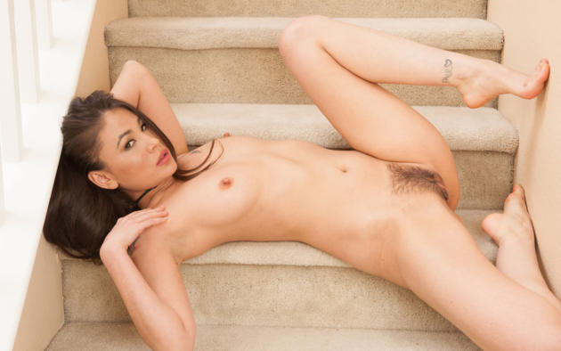 Wallpaper Jade Hsu, Asian, Hairy, Pussy, Tits, Haired -4457