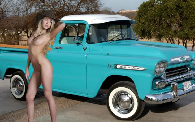 Suggest you model barbra nude cowgirl very