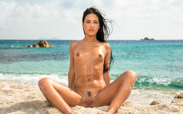Naked small tits