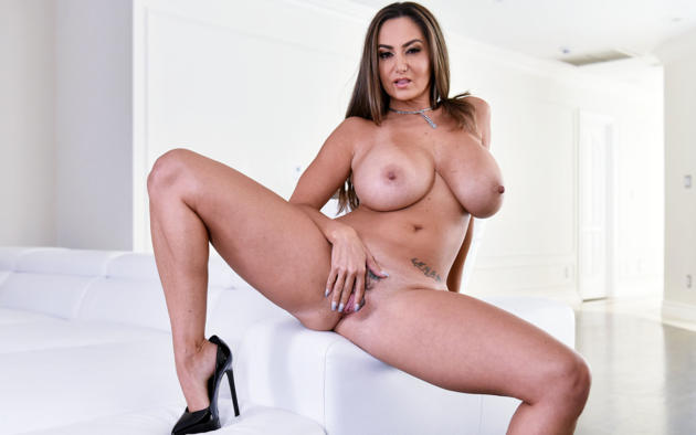 Wallpaper Pussy Brunette Big Tits Breasts Busty Hooters Ava