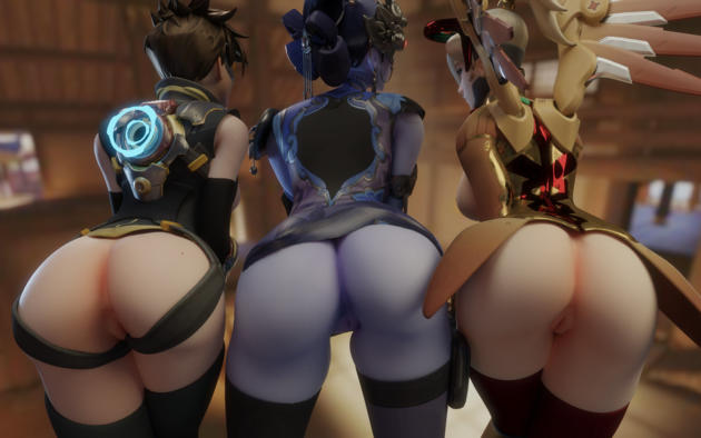 Overwatch Naked