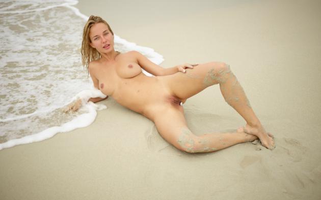 natalie andreeva, natalia a, delilah g, blonde, danica, danica jewels, naked, boobs, tits, nipples, shaved pussy, labia, hi-q, big tits, wet, beach, sand, butt plug, sea