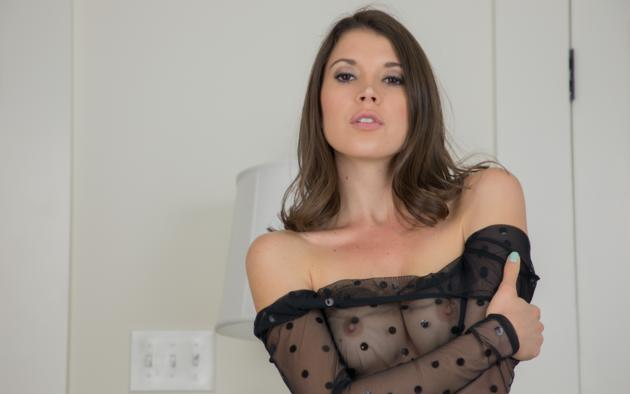 brittany marie, tits, sexy, hot, sheer, boobs, nipples, see through, brunette